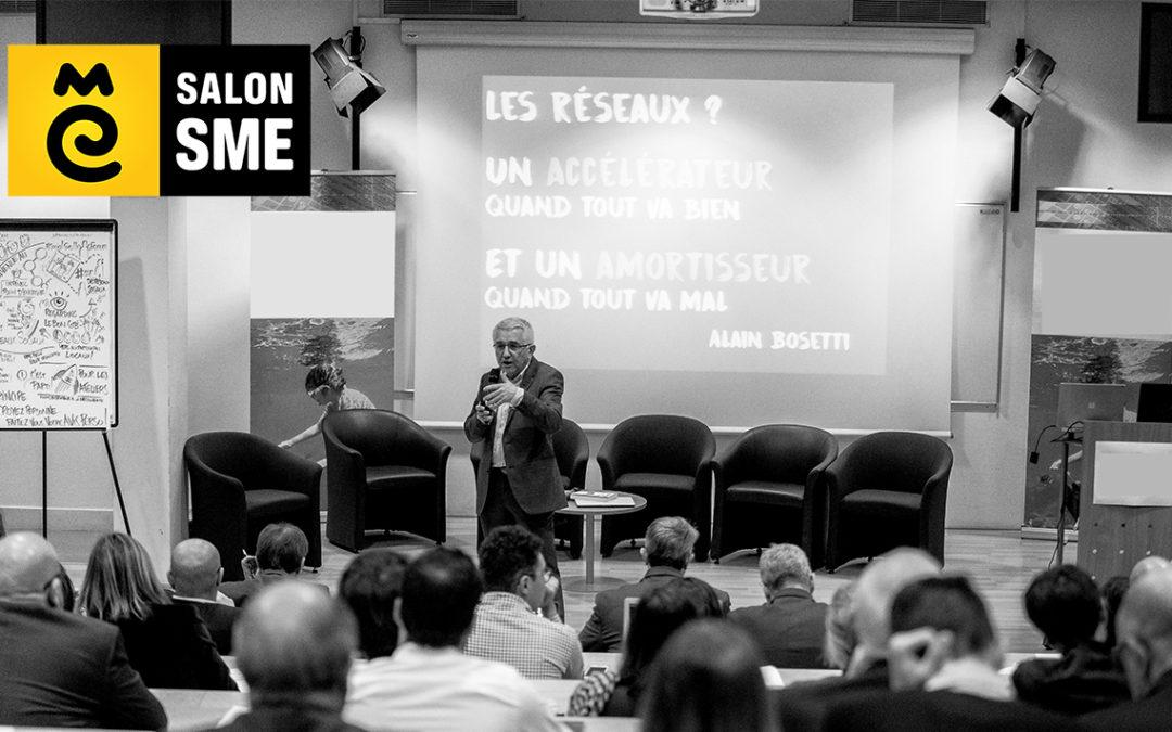 """Conférence gratuite """"Le Bonheur est dans le Réseau"""" au Salon SME le 1er octobre à Paris"""
